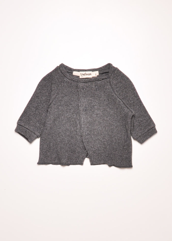 LAVONI CARDIGAN - CHARCOAL