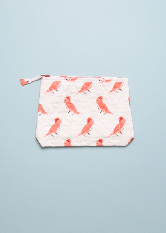 SMALL POUCH - PUNKY BIRDS