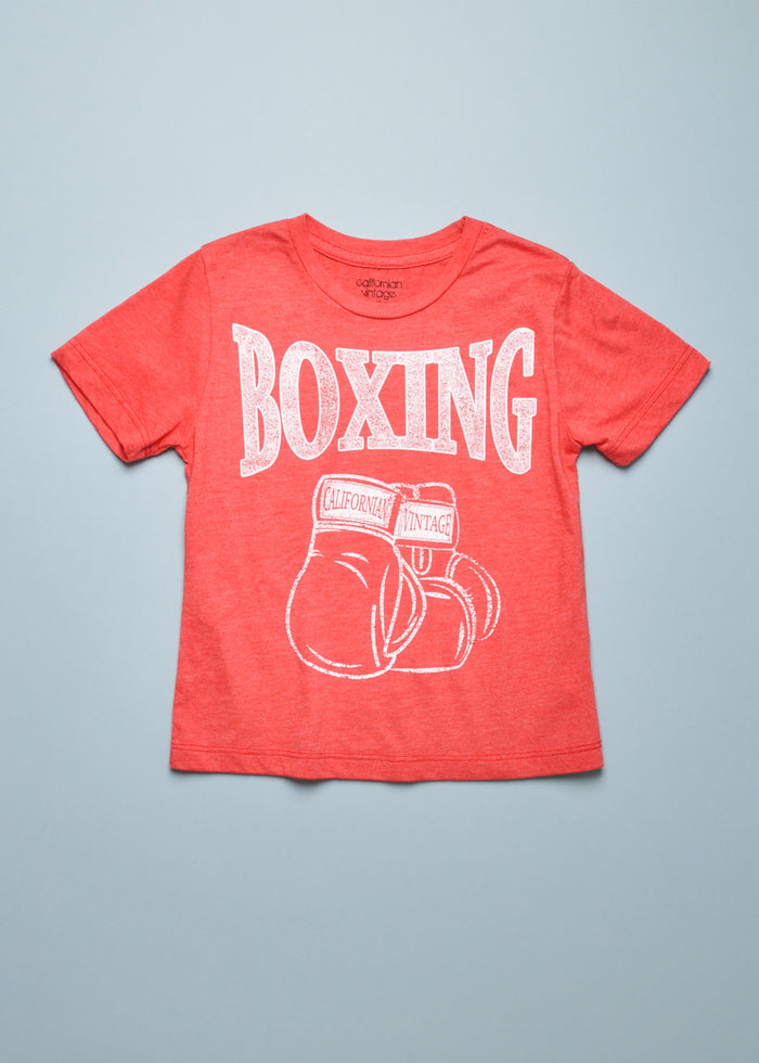 BOXING GLOVES TEE - RED