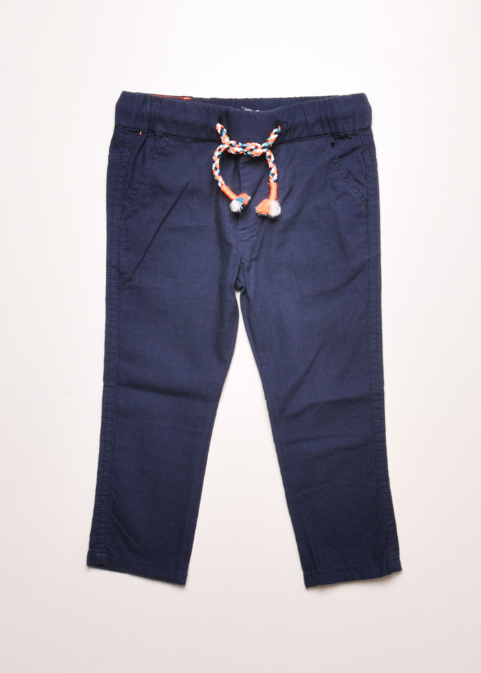 CANVAS PANTS - INDIGO