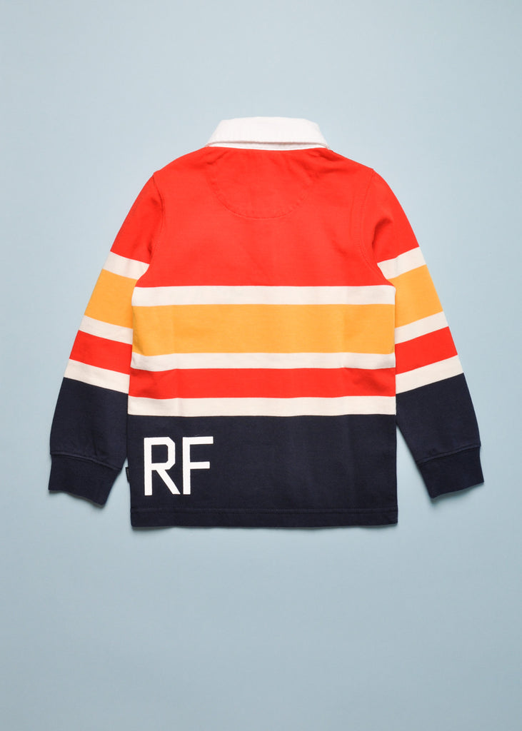 WIDE STRIPE RUGBY SHIRT