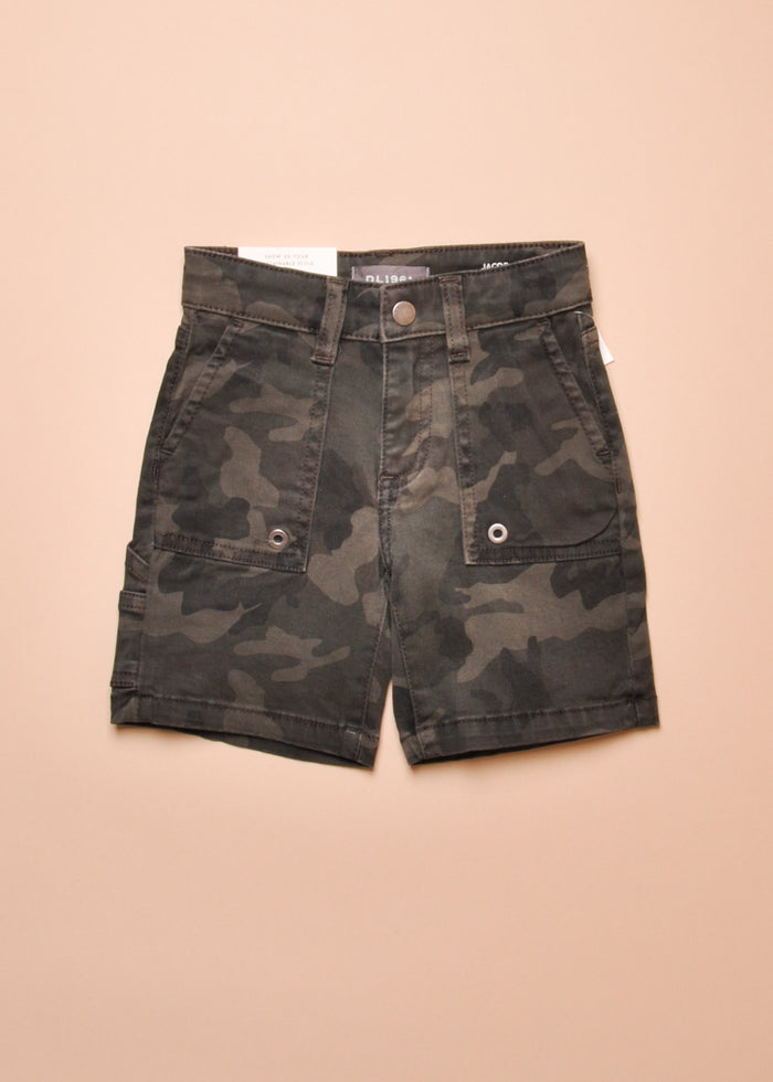 JACOB CAMO SHORTS
