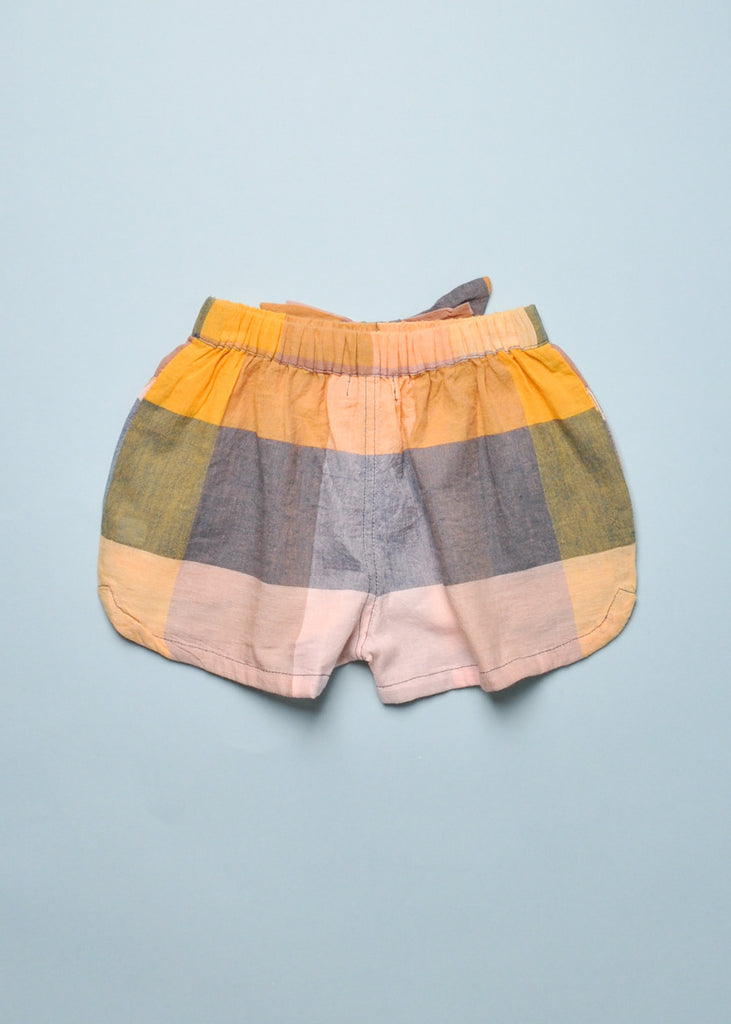 PLAID CAMP SHORT