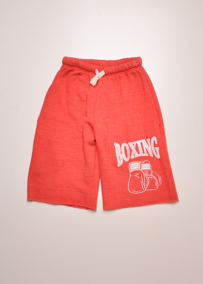BOXING GLOVES SWEATSHORTS