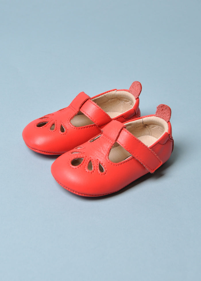 T-PETAL SHOE - BRIGHT RED
