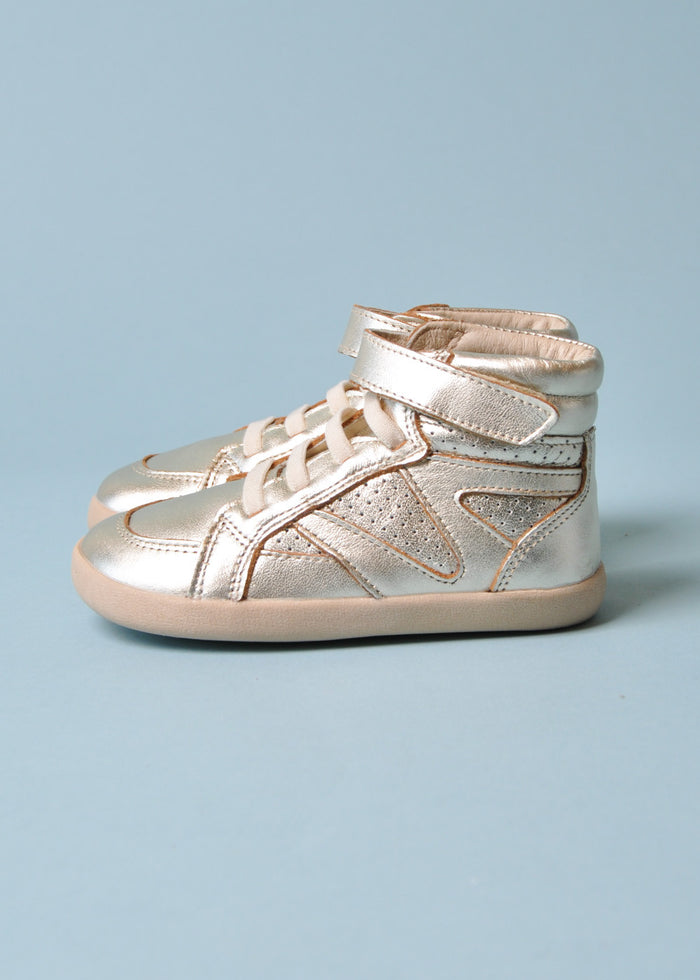 CHEERLEADER HIGHTOP - GOLD