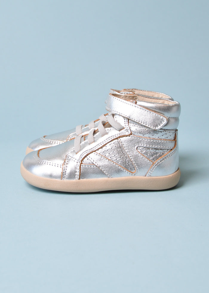 CHEERLEADER HIGHTOP - SILVER