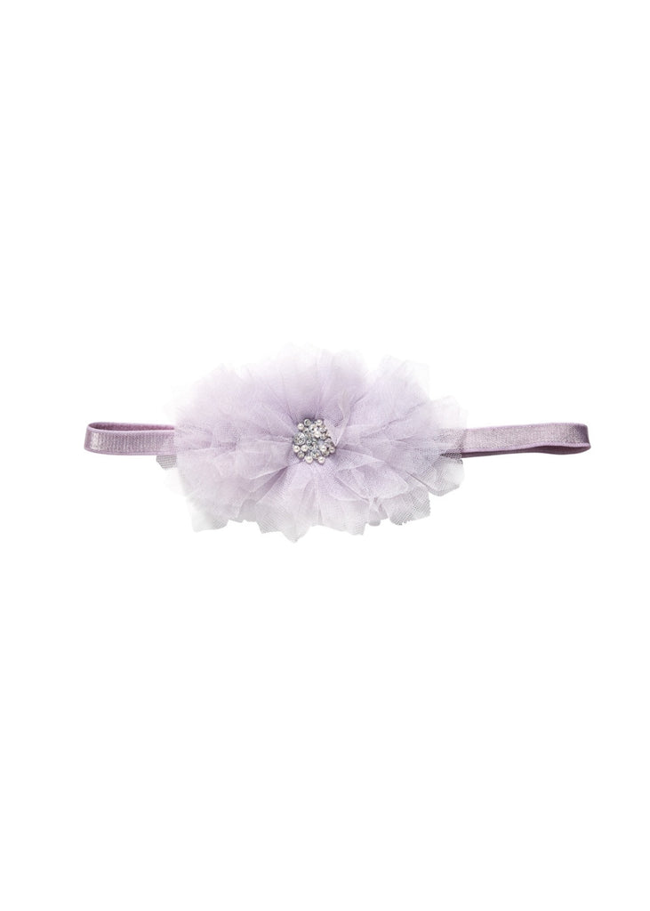 GARDENIA HEADBAND - FRENCH SILVER