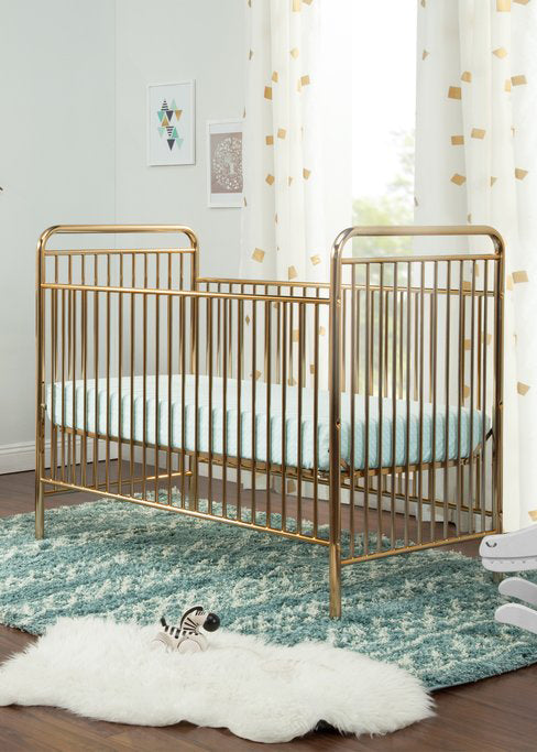JUBILEE 3 IN 1 CONVERTIBLE CRIB - GOLD
