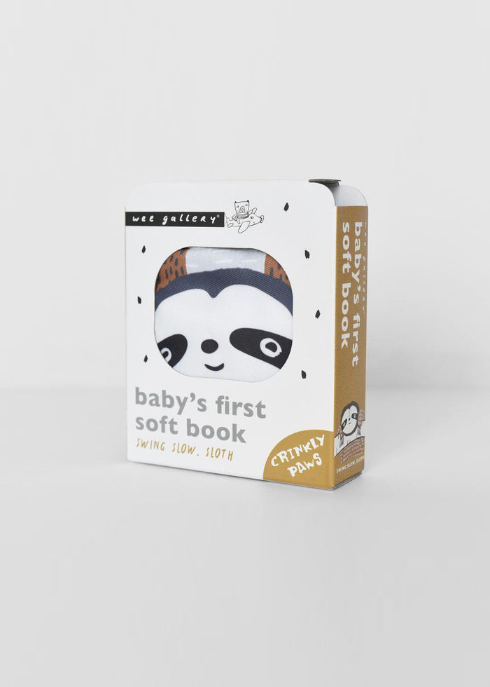 BABY'S FIRST SOFT BOOK - SLOTH