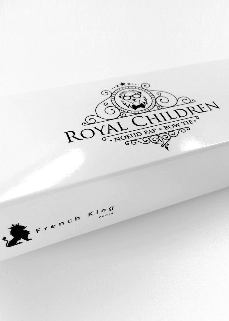 ROYAL CHILDREN BOW TIE - RED GINGHAM