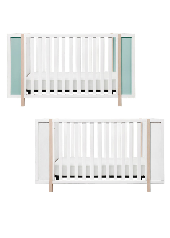 BINGO 3 IN 1 CONVERTIBLE CRIB AND STORAGE COMBO - COLOR OPTIONS