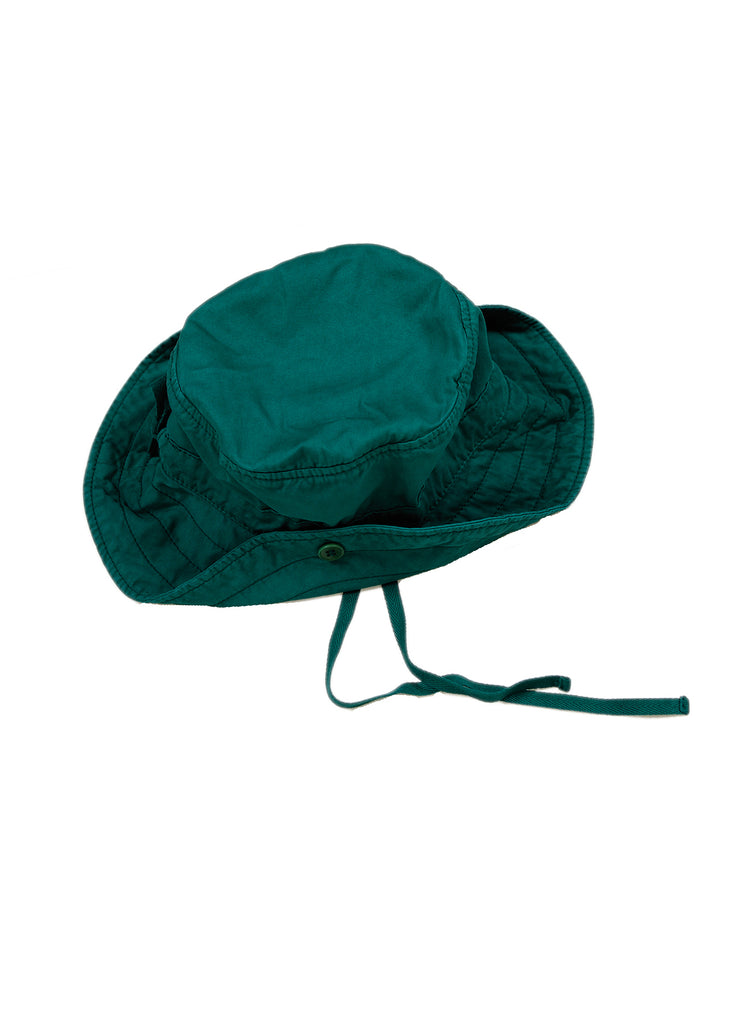FLORES SUN HAT - FOREST GREEN