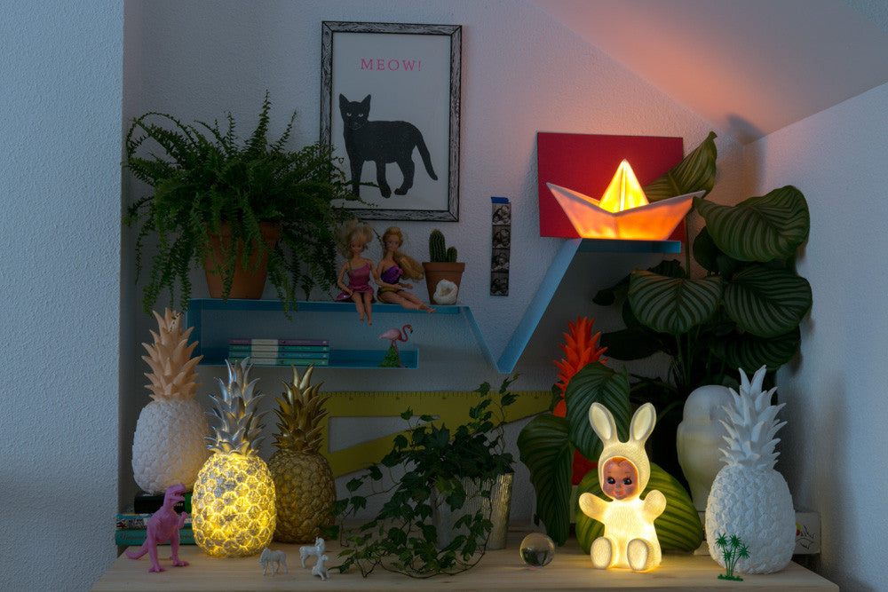 PINEAPPLE LAMP - COPPER