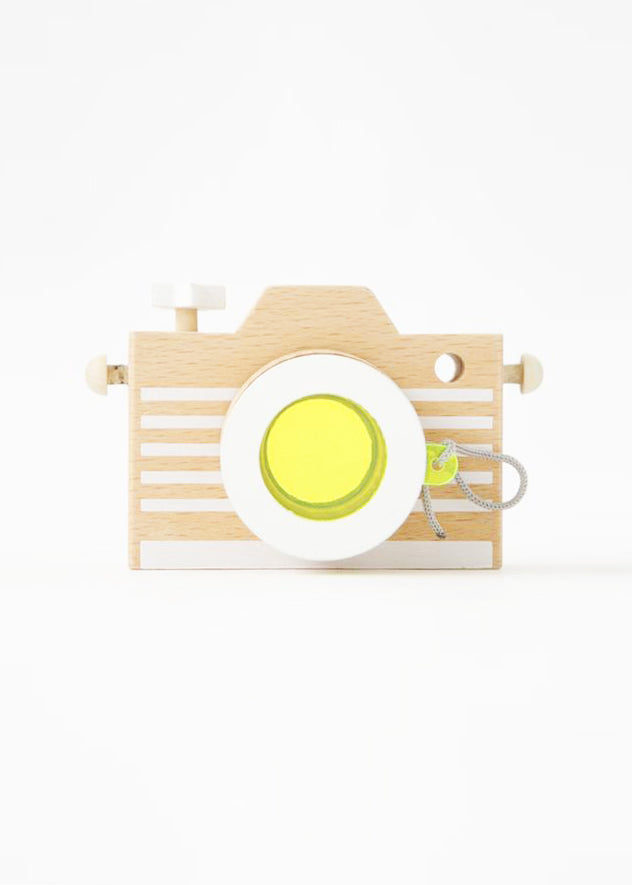 KALEIDOSCOPE PLAY CAMERA - YELLOW