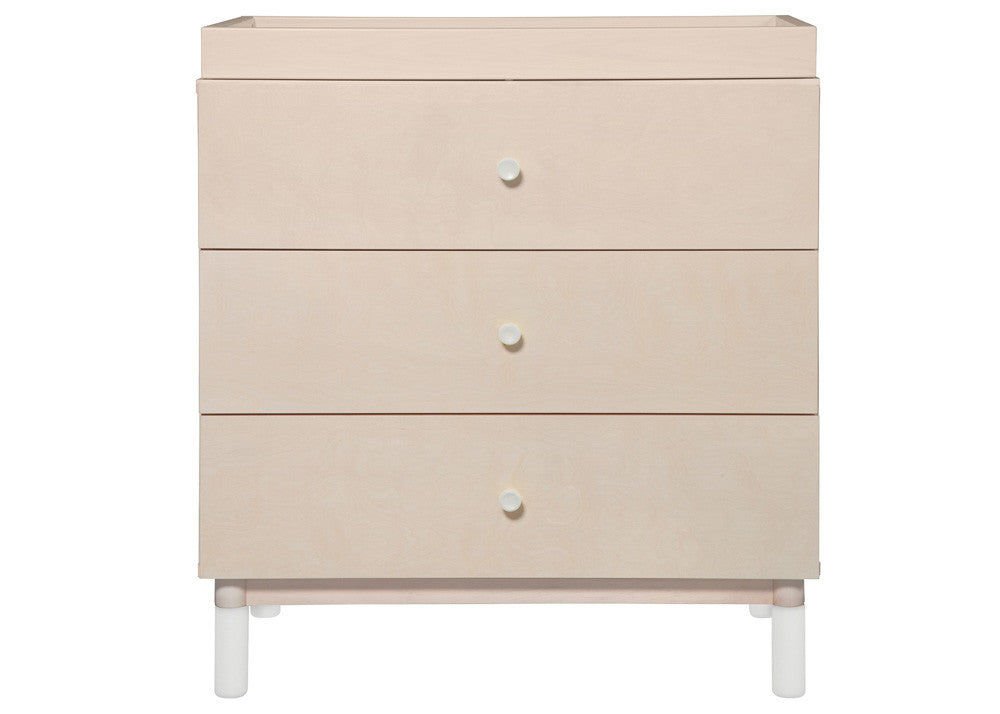 GELATO 3 DRAWER CHANGER DRESSER - WASHED NATURAL