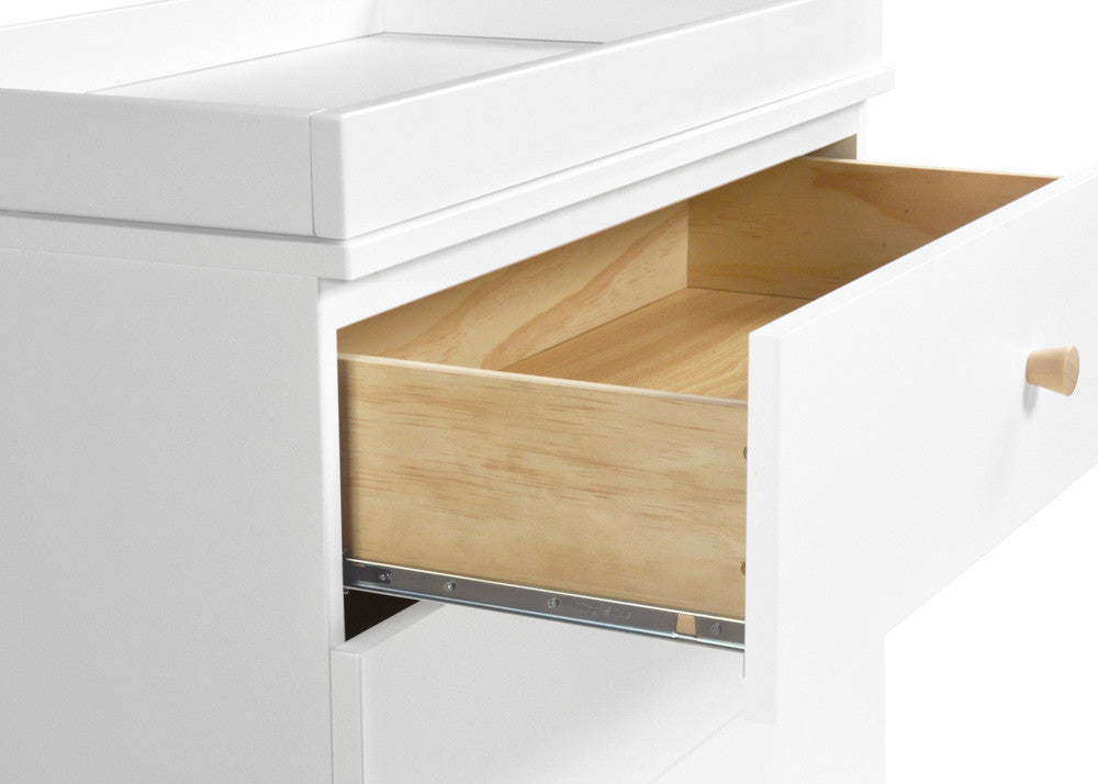 GELATO 3 DRAWER CHANGER DRESSER - WHITE