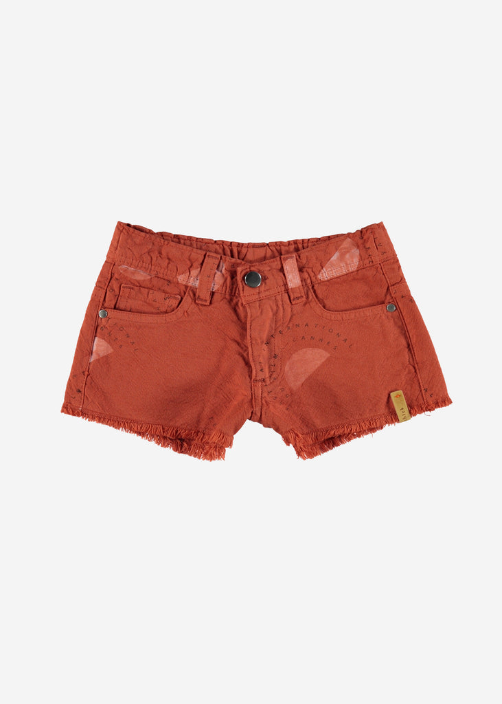 FESTIVAL CUTOFF SHORTS