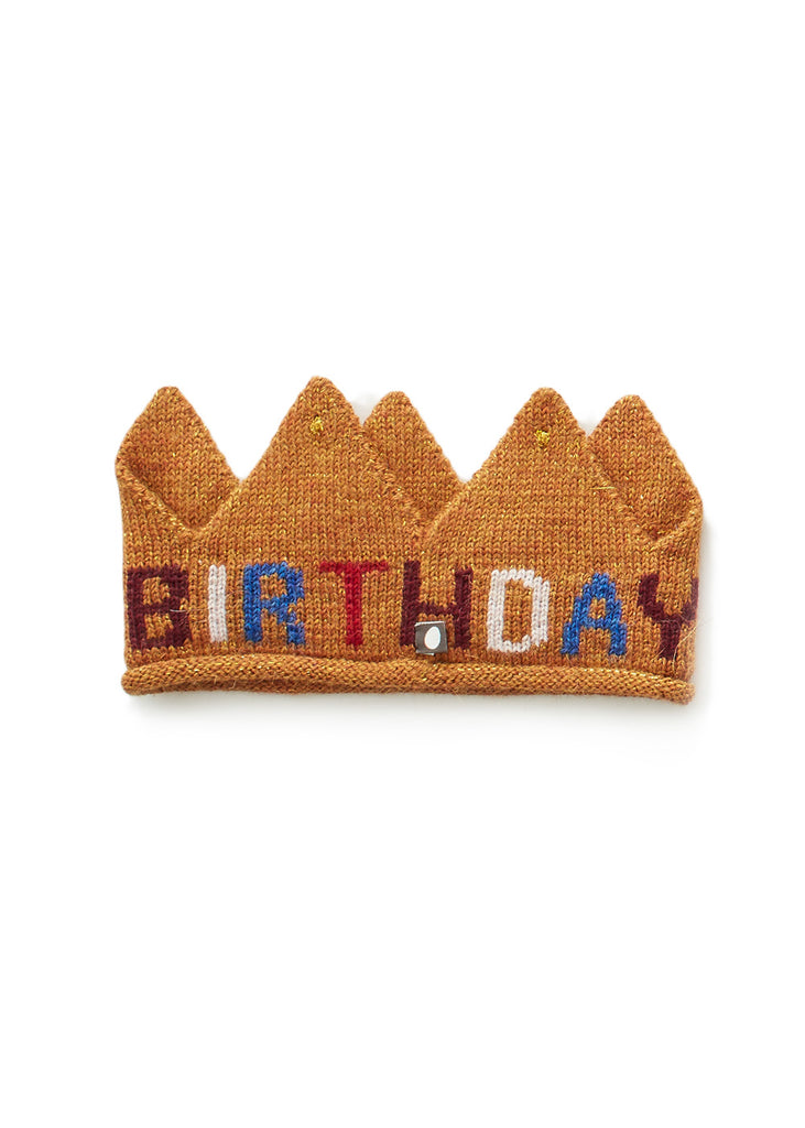 KNIT BIRTHDAY CROWN