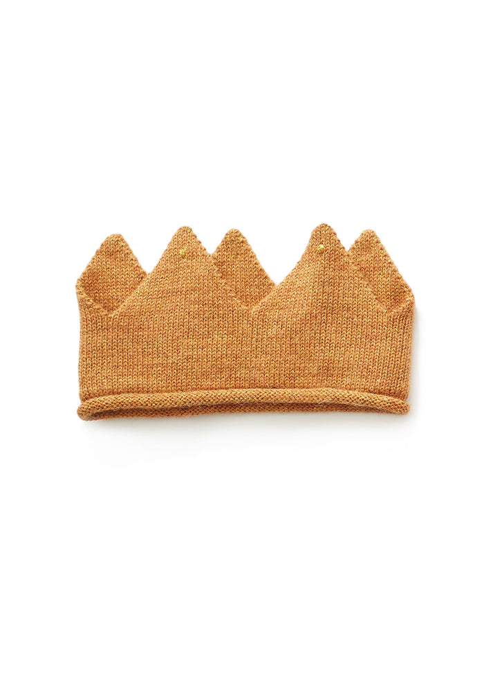 KNIT CROWN - GOLD