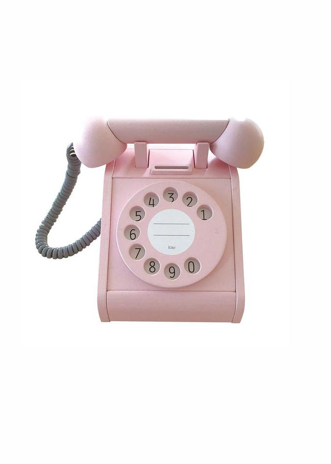 KIKO+ PLAY TELEPHONE - PINK