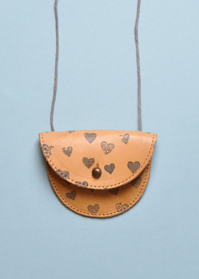 HEARTS COIN PURSE NECKLACE