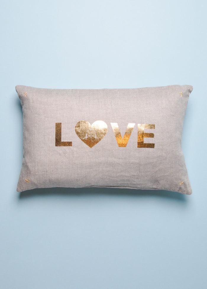 LOVE LETTER CUSHION