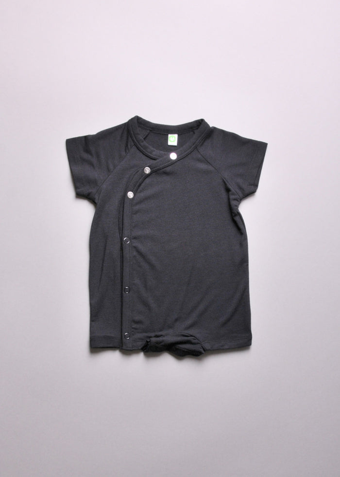 MILK JERSEY LAYETTE - BLACK