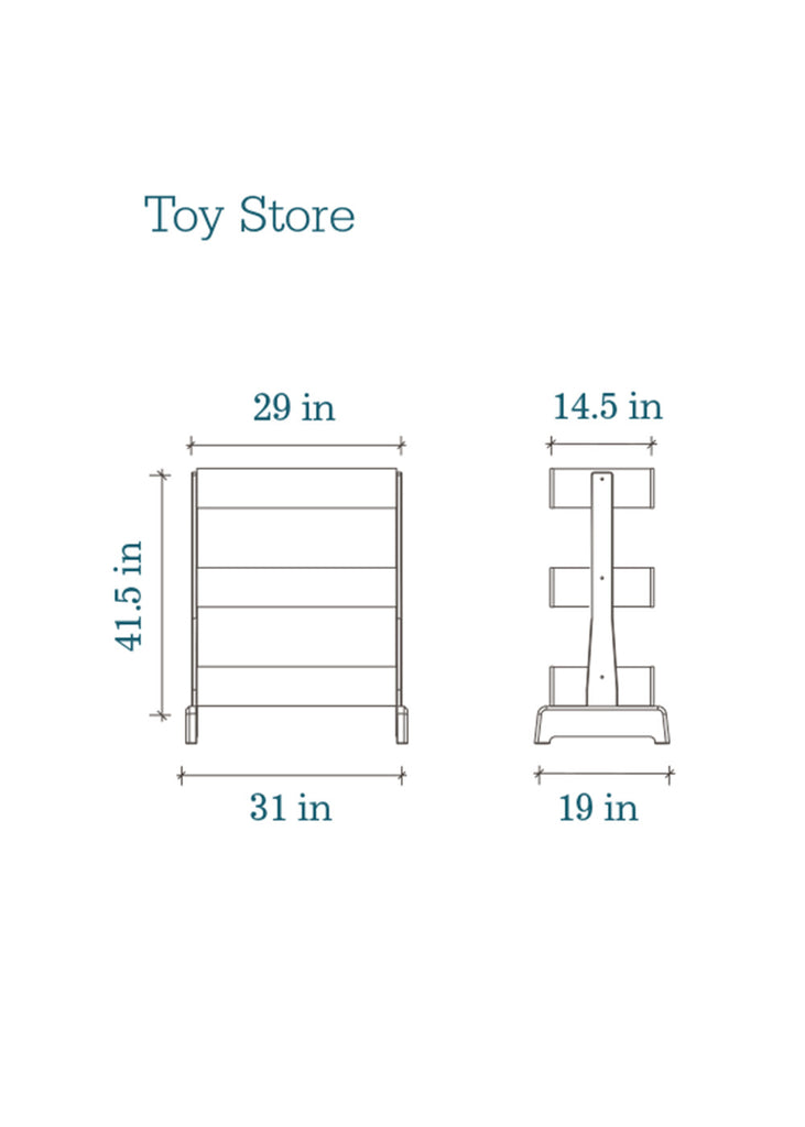 TOY STORE - WALNUT