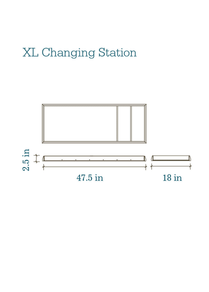 XL CHANGING STATION