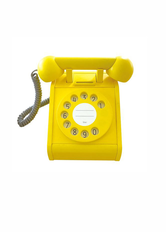 KIKO+ PLAY TELEPHONE - YELLOW