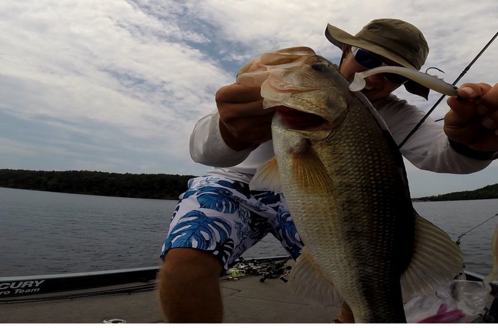 Loosing a Pickwick Lake Giant - True Bass Swimbait Big Head 7.5