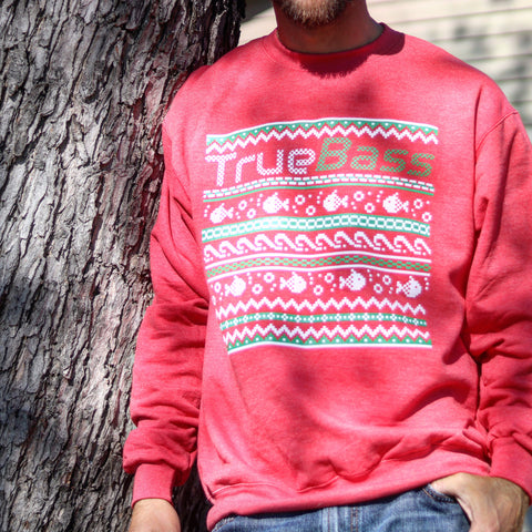 True Bass Christmas Sweater (HALF OFF!)