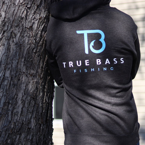 True Bass Hoodie Gray - New LOGO