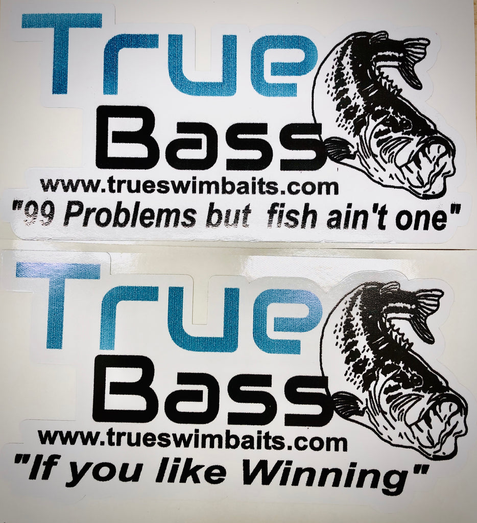 TRUEBASS DECAL