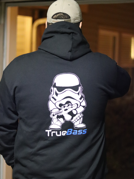 Team True Bass Bundle - Storm Trooper Hoodie and Beanie