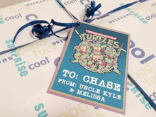 TMNT Teenage Mutant Ninja Turtles birthday handmade one-of-a-kind Greeting Card