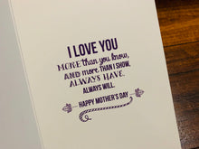 Wishing Love & Happiness - Mother's Day Card (Mom, Grandmother, Wife)