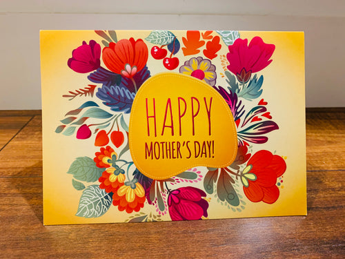 Happy Mother's Day (Mother/Wife) Bright Flowers
