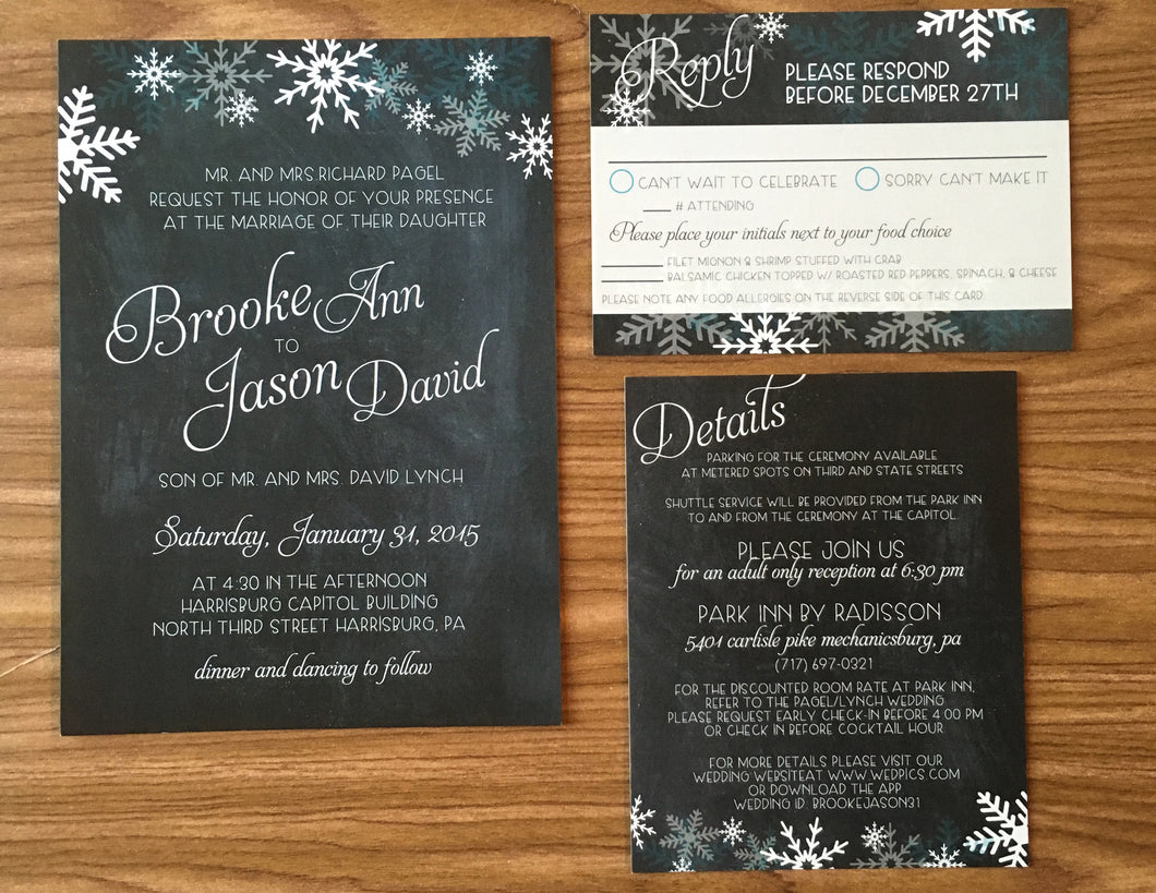 Winter Wedding Suite - Brooke