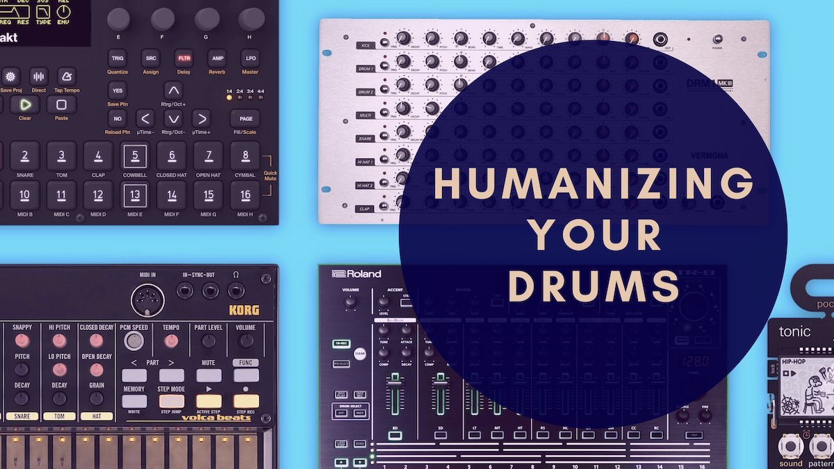Real sounding drums