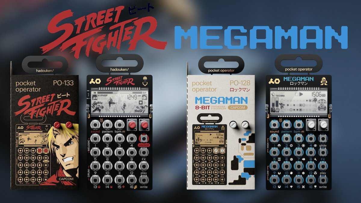 Teenage Engineering Releases Capcom Pocket Operators
