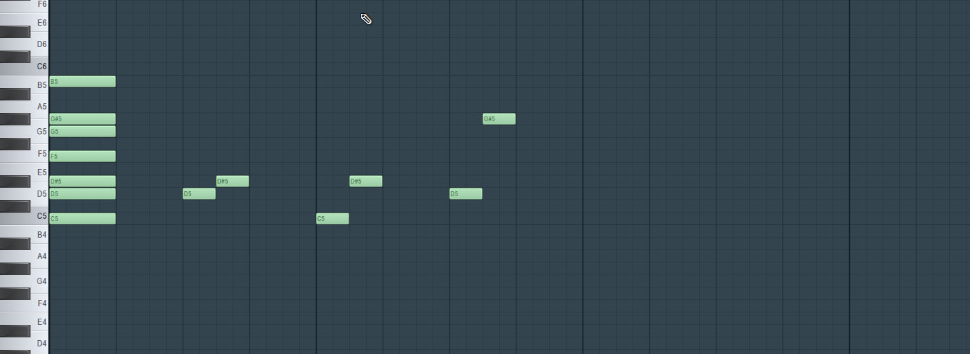 Melody Intervals For Trap Beats