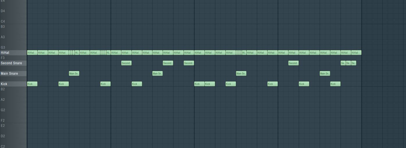 Trap Drum Groove