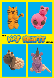 Super Light Air Clay Animals