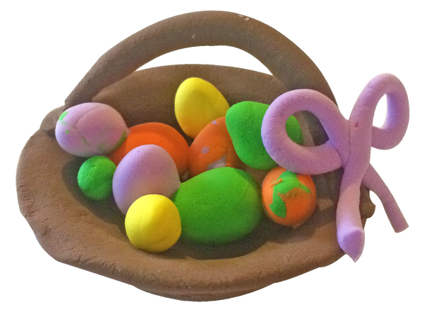 Super Light Air Clay - Easter Basket