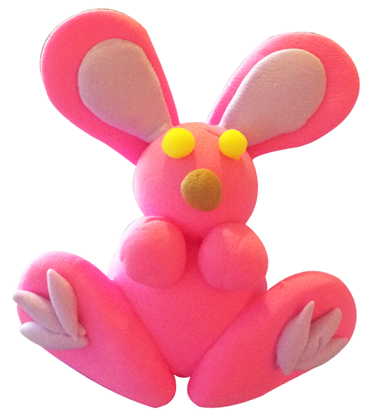Super Light Air Clay - Easter Bunny