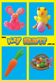 Super Light Air Clay - Easter