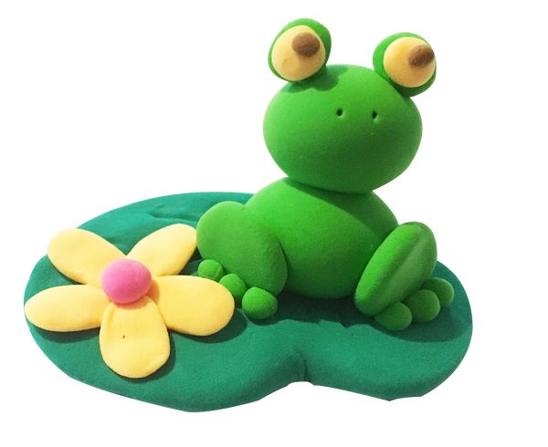 Super Light Air Clay - Frog