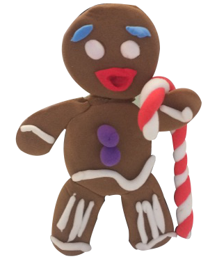 Super Light Air Clay - Ginger Bread man